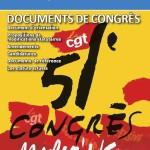 51ème congrès confédéral CGT (N° 7)  :  le rapport d'ouverture de Philippe Martinez et l'appel du congrès